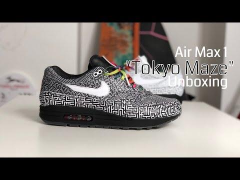 best website 2d50e 9f2c5 ON AIR - Nike Air Max 1   39 Tokyo Maze  39  Sneaker Unboxing