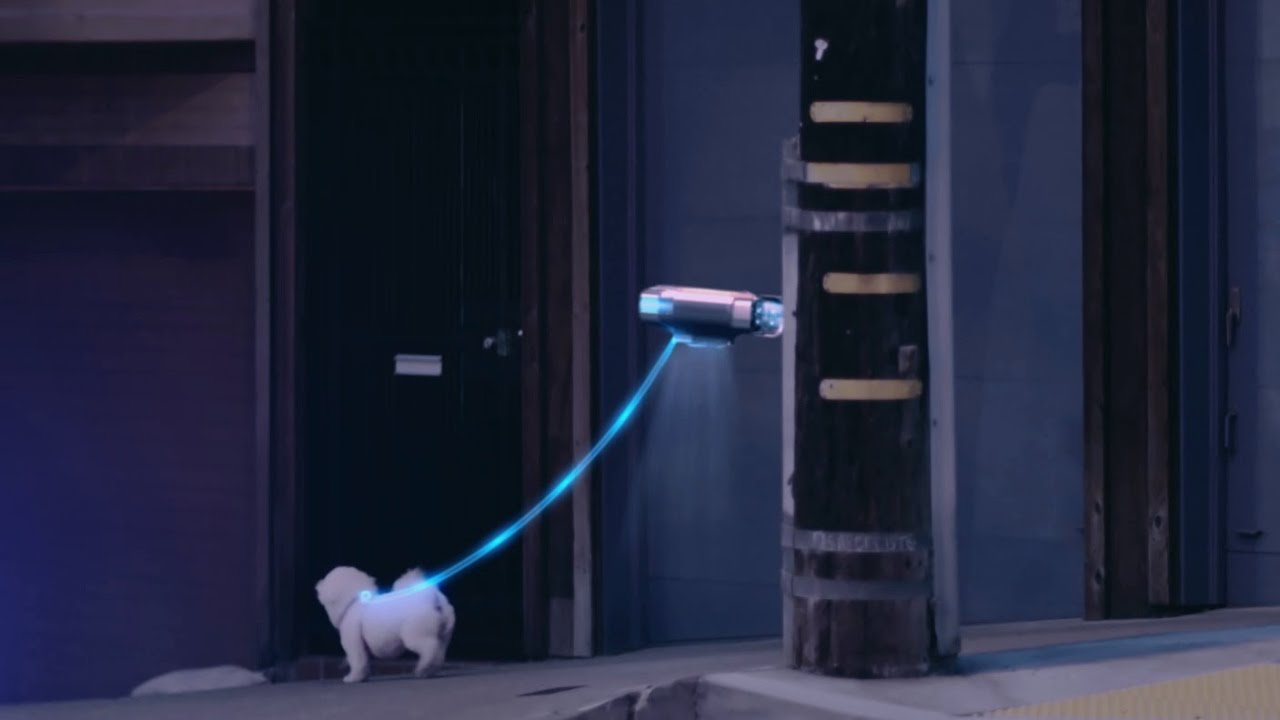 """Mercedes F 015 >> The F 015 Luxury in Motion spot """"Dogwalker"""". Happy Back to the Future Day - Mercedes-Benz ..."""