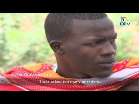 Anti - cut warriors of the Maasai community