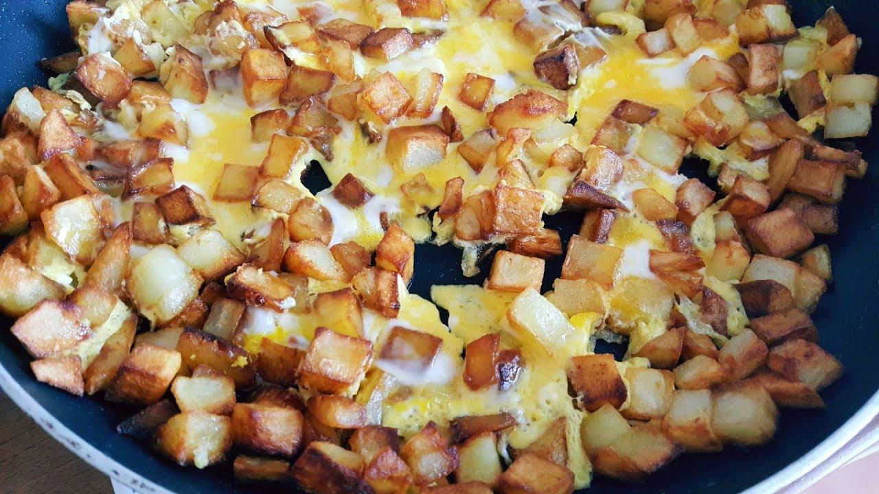 tarif: yumurtalı patates kızartması video [37]