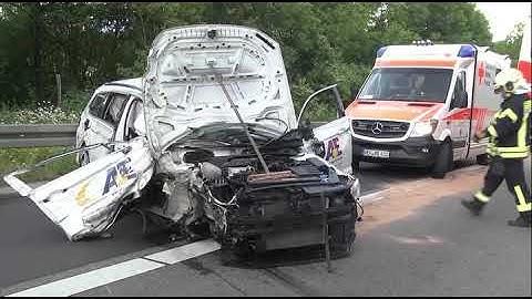 Zwei Unfälle rund um Kirchheim