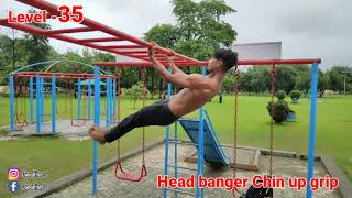 Pull ups level 1 to 100 | Juned Fitness