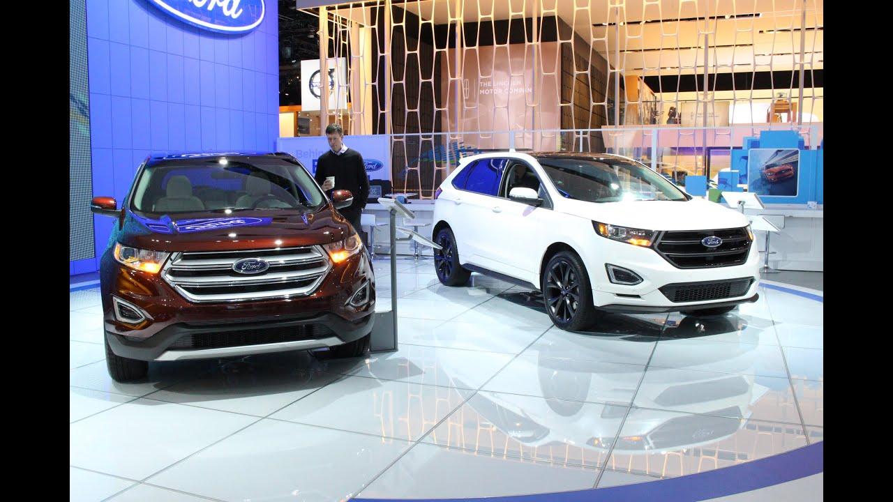 2016 Ford Edge Sport At The 2017 Naias Detroit Auto Show