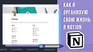 МОЙ ЭЛЕКТРОННЫЙ BULLET JOURNAL | NOTION