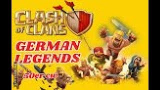 GERMAN LEGENDS ( Clankrieg Nr.8 / Teil 1)CLASH OF CLANS /CW + TROPHY PUSH / POKIJAGD /DEUTSCH/GERMAN