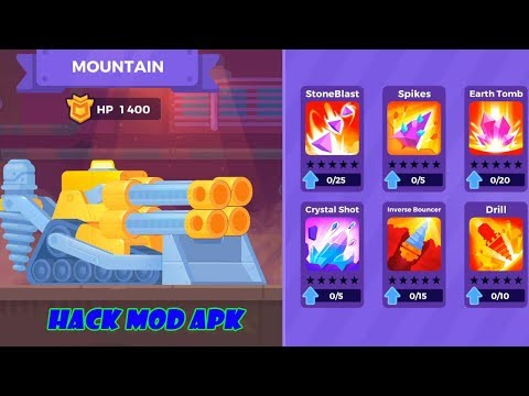 Tank Stars hack mod apk – Unlock Mountain Tank and Upgrade  #Smartphone #Android
