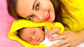Canción de cuna de una madre para su bebé | Canciones infantiles de Maya y Mary