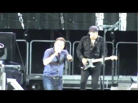 Bruce Springsteen - Higher and Higher - Olympic Stadium, Helsinki, Finland, July 31st 2012