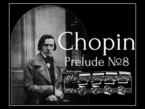 Frederic Chopin - Prelude №8 in F sharp minor Op.28