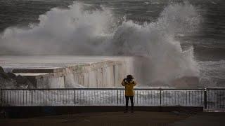 مصرع 3 أشخاص وإغلاق مدارس في شرق إسبانيا بسبب العاصفة