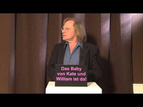 Das Baby von Kate und William ist da! Aktuelle Pressekonferenz aus London