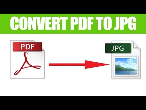 How To Convert Pdf To Jpg Freely