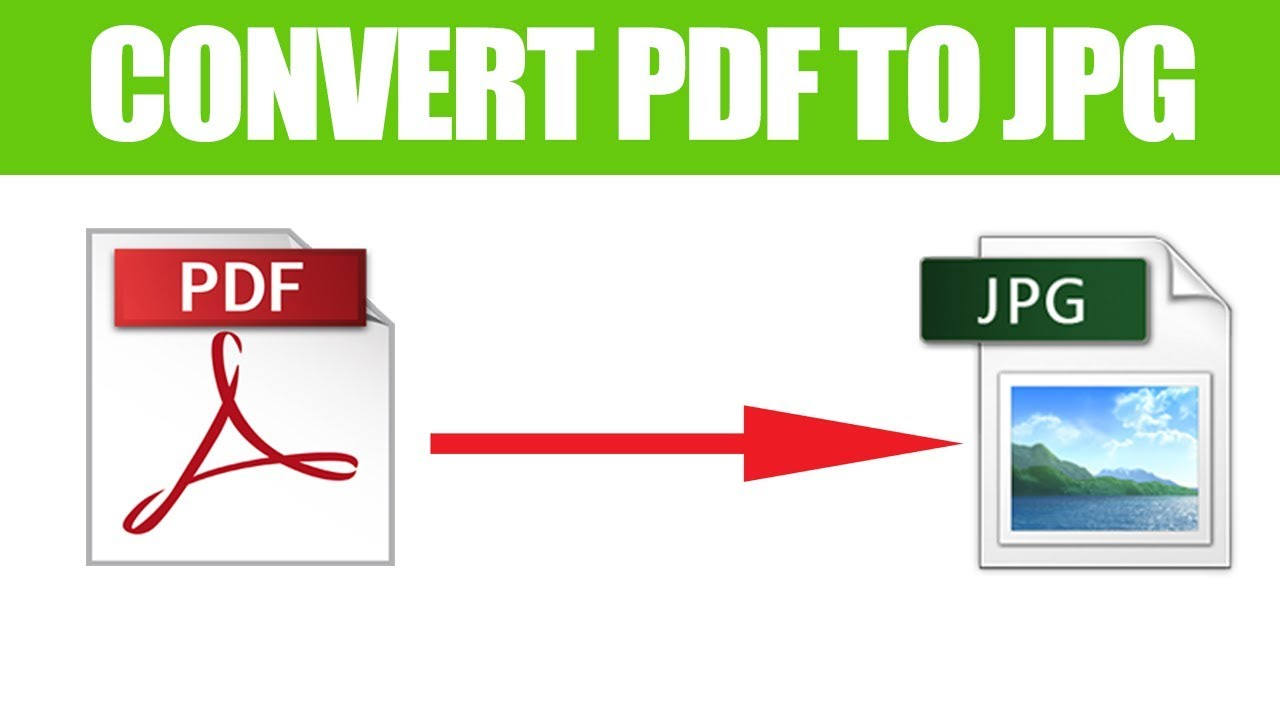 How To Convert Pdf To Jpg Freely Youtube