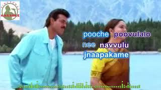 edho okkaraagam Telugu karaoke for Male singers