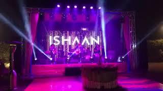 Ishaan arora singing live /Delhi/ wedding