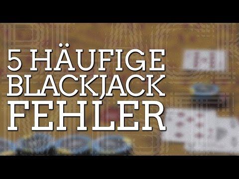 5 Häufige Fehler Beim Blackjack