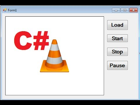 C# Tutorial 100: How to embed VLC Media Player into C# Windows Forms  Application
