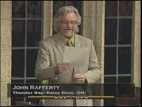 John Rafferty, MP (Thunder Bay - Rainy River) - World Junior Baseball Championships In Thunder Bay
