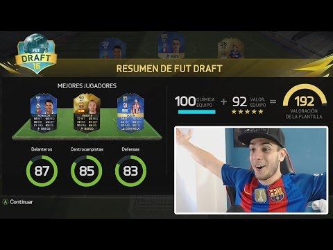 FUT DRAFT 192 VALORACIÓN!!! FIFA 16