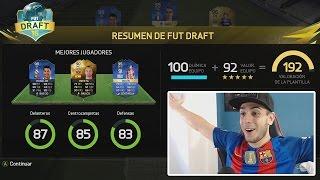 FUT DRAFT 192 VALORACIÓN FIFA 16