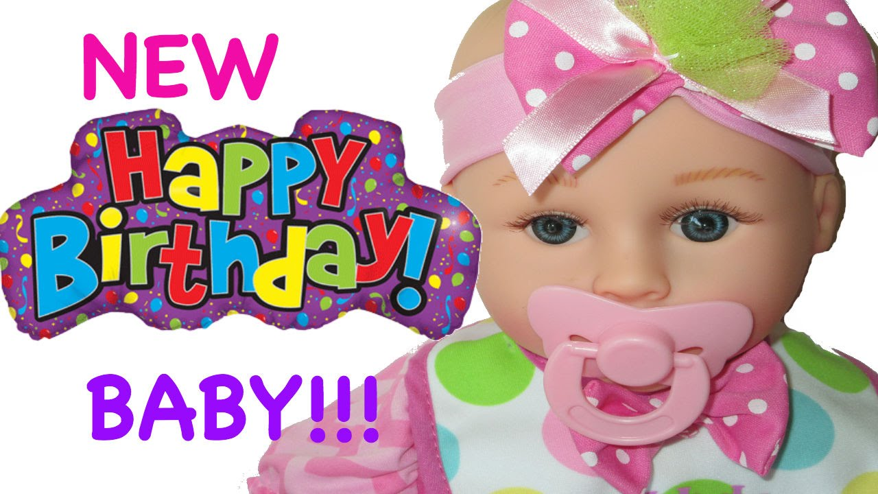 Happy Birthday Baby New Baby Unboxing Youtube