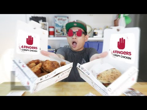 Ayam & Burger Dari 4Fingers Sedap TAPI...