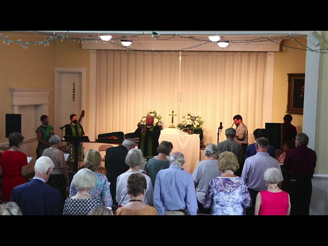 St. John's service August 15, 2021