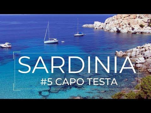 CAPO TESTA   BEACH RENA DI PONENTE   CORSICA VIEW   SARDINIA   ITALY   HONEST GUIDE