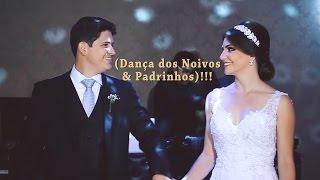 Dança dos Noivos Rafael & Gabriela com seus Padrinhos 19/03/2016