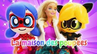 Vidéo en français pour enfants. LadyBug : Barbie et Marinette à la compétition