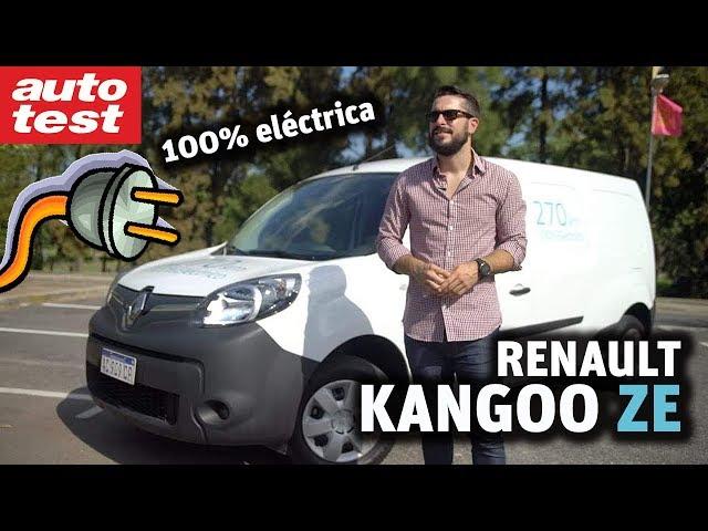 Prueba: Renault Kangoo ZE