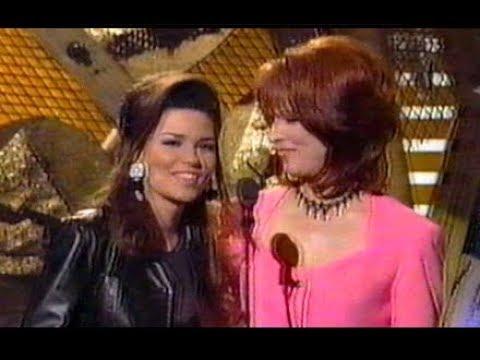 Shania Twain, Any Man Of Mine, Live 1996 Grammy's