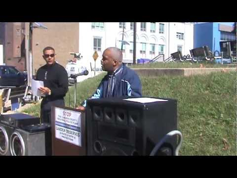 Camden City Police Department Rally 10/13/12 Part 1/3 (Councilman Brian Coleman Opposes Plan)