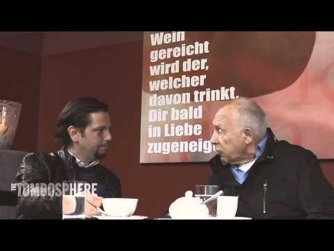 Unser Redner Heiner Geißler im Interview mit Tom Aslan