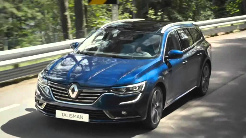 la renault talisman se d voile en version estate youtube. Black Bedroom Furniture Sets. Home Design Ideas