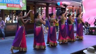 Ajna Dance Performance FAB Festival 2013 - Ghagra, Silsila Ye Chahat Ka