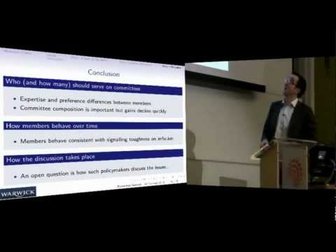 Michael McMahon - The Who and How of Monetary Policy - Warwick Economics Summit 2013