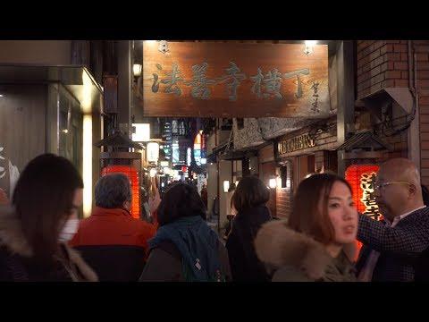 Japan, Day 12.4, Osaka - Walking around Hozenji Yokocho 法善寺横丁, Full Video [4K, Zhiyun Crane]