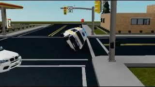 Roblox Ambulance Romanian Crash (Animation By Roblox Turc)