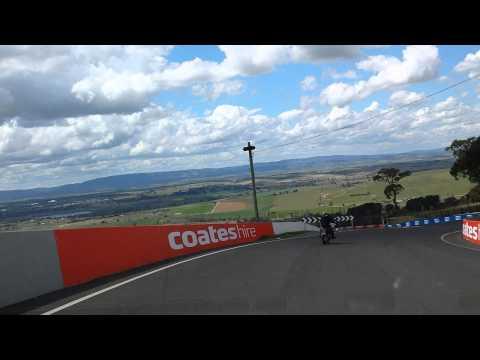 On board lap of Mount Panorama Circuit - September 2014