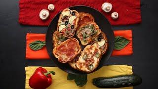 30-Minute Garlic Bread Pizza • Tasty