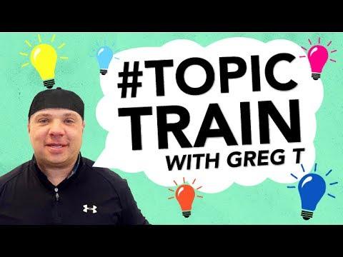 Office Creep, Stupid Fight, Wild Vacation | Greg T's Topic Train