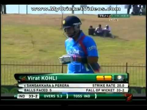 srilanka vs india 2nd odi part1 23 7 2012