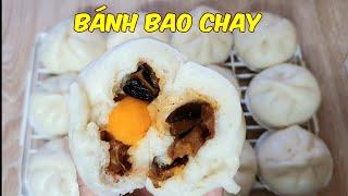 Cách làm Bánh Bao Chay ngon,đơn giản