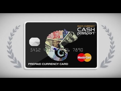 Cash Passport - Prepaid Travel Money Card