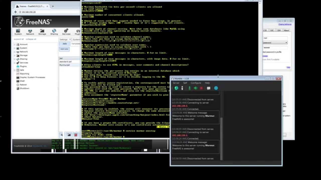 Install Murmur (Mumble server) on FreeNAS/FreeBSD - FreeBSDNews com