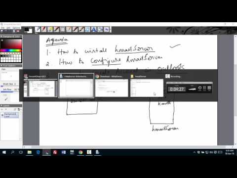 How to use hMailServer and Outlook 2013