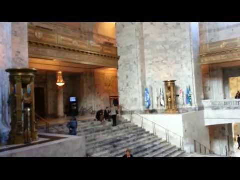 I am in Washington. Capitol. Governor's Office and More.  June 2013