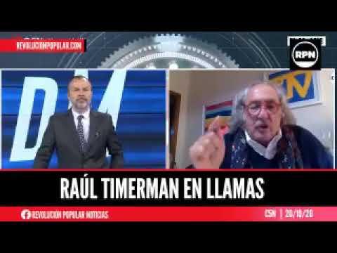 El politólogo Timerman defendió la gestión  de Insfrán