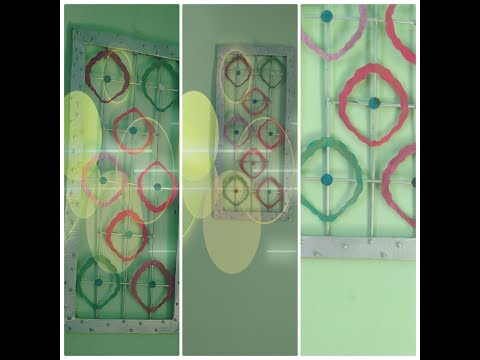 vertical wall décor /DIY wall hanging/unique wall hanging/easy crafts idea/HOBBY BOOSTER